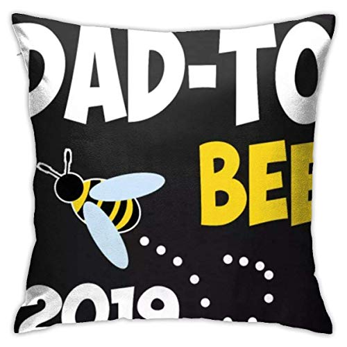 Soon to Be A Daddy Fashion Pillowcases Decorative Pillowcase 18 * 18inch