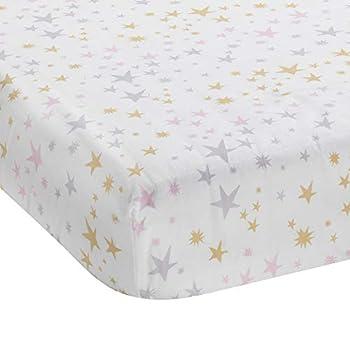 Bedtime Originals Rainbow Unicorn Fitted Crib Sheet
