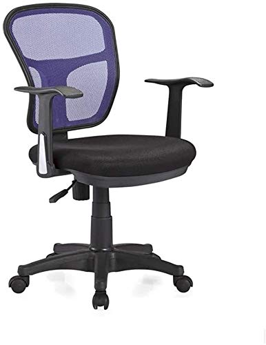 Silla Giratoria de Oficina Silla Silla de oficina Escritorio Sillas Ergonómicas de Rodillas silla giratoria silla de trabajo de malla Negro ergonómicas de alta detrás rellenó, giratoria de oficina Sil
