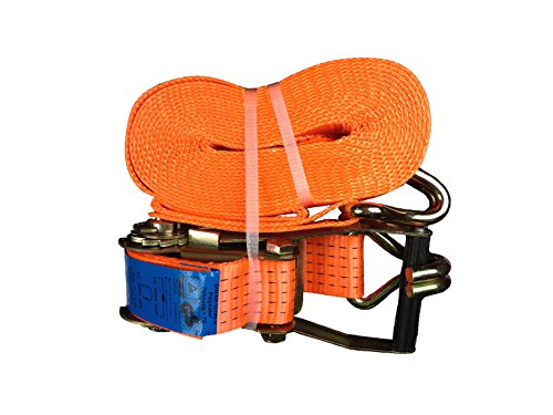 1x Spanngurt mit Ratsche 50mm/8 Meter LC 5000 kg,Spitzhaken,Zurrgurte,Gurt,Gepäckgurt,Ratschenspanngurt