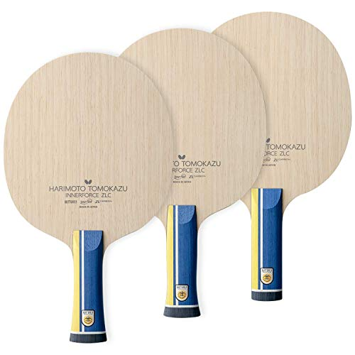 Butterfly Harimoto Innerforce ZLC Table Tennis Blade - Innerfiber ZLC Blade - Professional Butterfly Table Tennis Blade - Available in AN, FL, and ST Handle Styles - Made in Japan