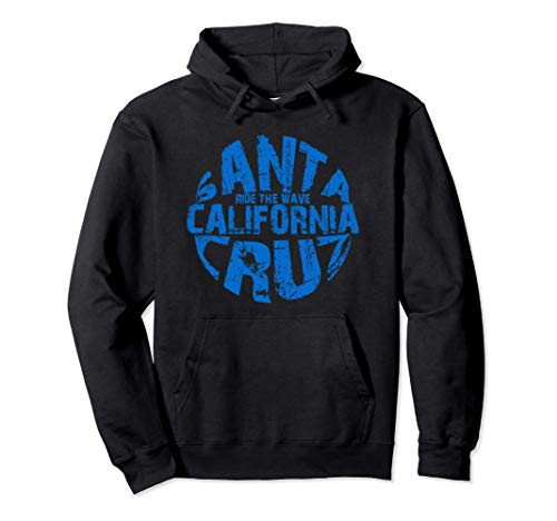 Santa Cruz vintage retro Surfboard Summer and weekend Sudadera con Capucha