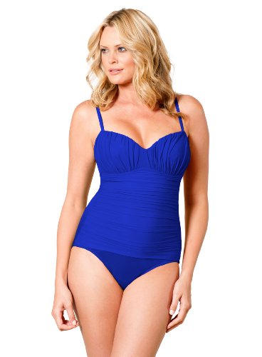 Miraclesuit DD Cup Solid Rialto Blue 14DD