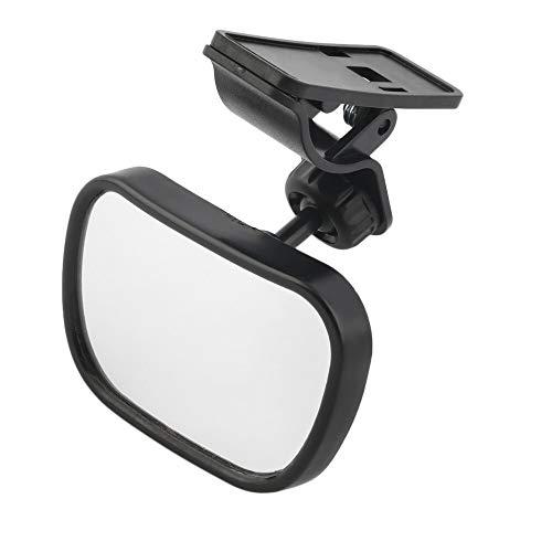 Espejo Retrovisor Interior Mirror de coche ajustable Asiento trasero Asiento trasero Vista de seguridad Trasera orientada para automóvil Interior de automóvil Monitor de niños Monitor de seguridad inv