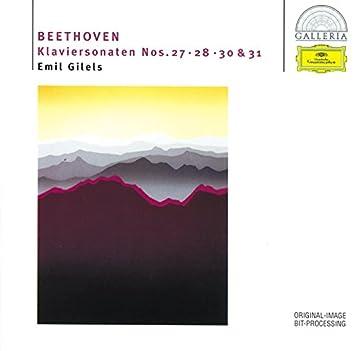 Beethoven: Piano Sonatas Nos.27, 28, 30 & 31