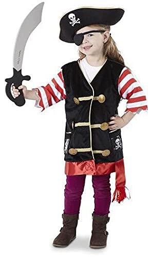 Melissa & Doug Pirate Costume Role Play Set 14848