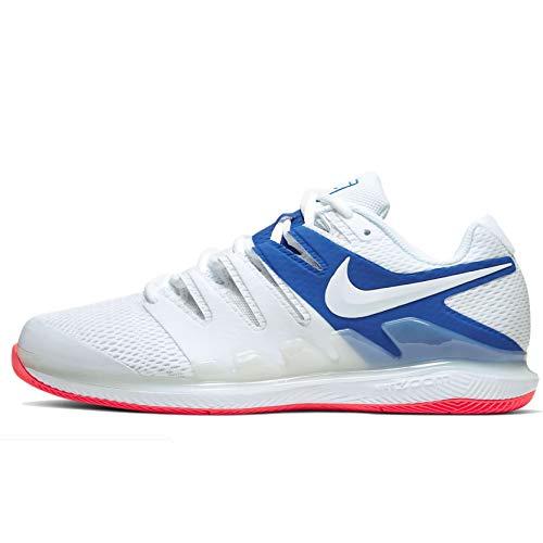 Nike Air Zoom Vapor X, Scarpe da Tennis Uomo, Multicolore (WhiteWhite Game Royal Flash Crimson 105), 41 EU