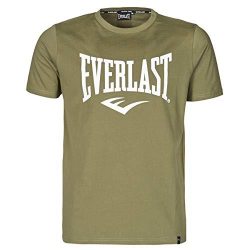 Everlast Evl- Basic Tee-Russel T-Shirts & Poloshirts Herren Khaki - XXL - T-Shirts Shirt