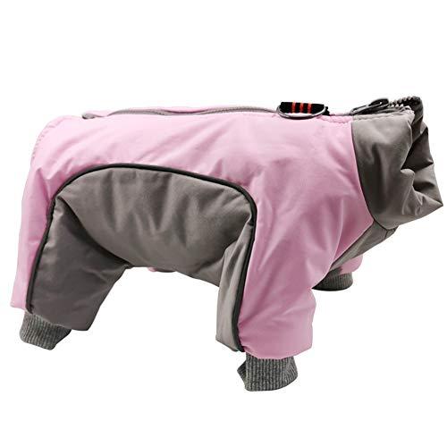XDYFF Pet Cold Weather Coats, Warm Winter Dog Jacket Windproof Outdoor Apparel Vest, Snowsuit...