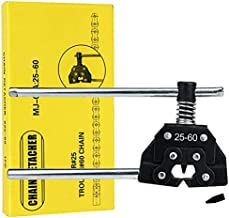 Mellbree Chain Breaker, Roller Chain Breaker Splitter Cutter Detacher Tool #25#35#41#40#50#60 415H 428H 520 530 Compatiable for Motorcycle, Dirt Bike, Go Kart, ATV and Bicycle Chains Replacement
