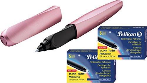 Pelikan Tintenroller Twist Girly Rose / rosé + Tintenroller-Refills