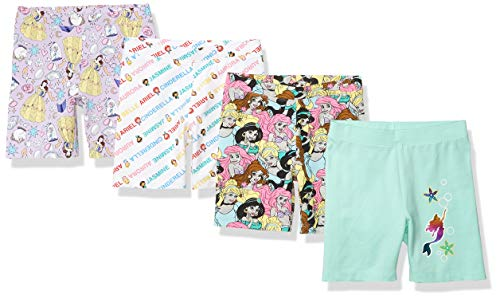 Spotted Zebra Girls Disney Star Wars Marvel Frozen Princess Bike Shorts -$20(22% Off)