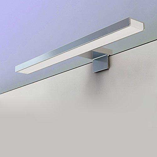BAYTTER LED Spiegelleuchte Spiegellampe 5W aus Aluminum wasserdicht IP44 Badlampe Badleuchte warmweiß