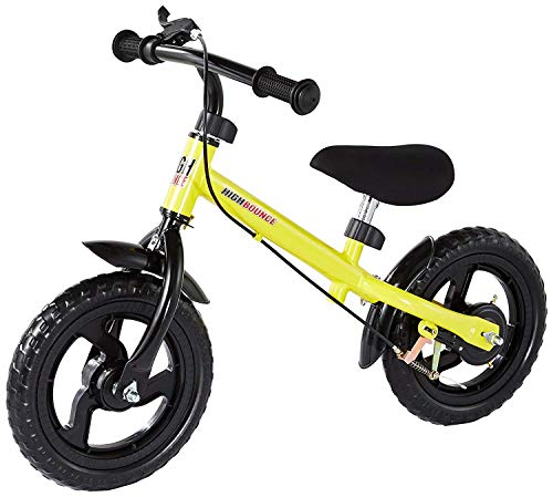 High Bounce Balance Bike Adjustable from 11''-16'' (Yellow)