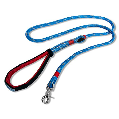 Kurgo Ascender Dog Leash, Hands Free Leash for Dogs, Waist Running Belt, Padded Handle, Pet Leash for Training, Hiking, or Jogging, Water Resistant, Adjustable 3 to 6 feet