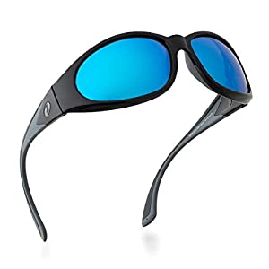 BNUS Sunglasses for Men & Women, Polarized glass lens, Color Mirrored Scratch Proof