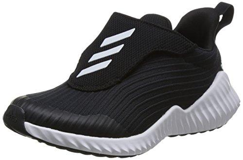 Adidas Fortarun AC K, Zapatillas de Deporte Unisex para Niños, Negro (Core Black/Ftwr White/Core Black Core Black/Ftwr White/Core Black) , 36 EU