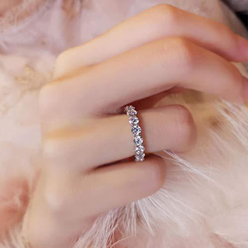 Anco Luxus Schmuck Inlay Cubic Zirkon Ring Hochzeit Verlobungsringe Geschenk Für Frauen Weibliche Elegante Ringe