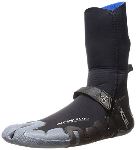 XCEL Neoprenanzug 3 mm Infiniti Split Toe Suit, Unisex, AQ037013, schwarz/grau, 4 UK