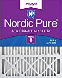 Nordic Pure 20x25x5 MERV 8 Pleated Honeywell Replacement AC Furnace...