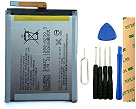 for Sony Xperia XA F3113 F3111 Xperia E5 F3311 F3313 LIS1618ERPC Replacement Battery with Tools Adhesive 2300mAh