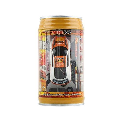Shuohu 1Pc Remote Control Racing Car in Soda Can,Mini Speed RC Radio Micro Racing Car Toy Gift