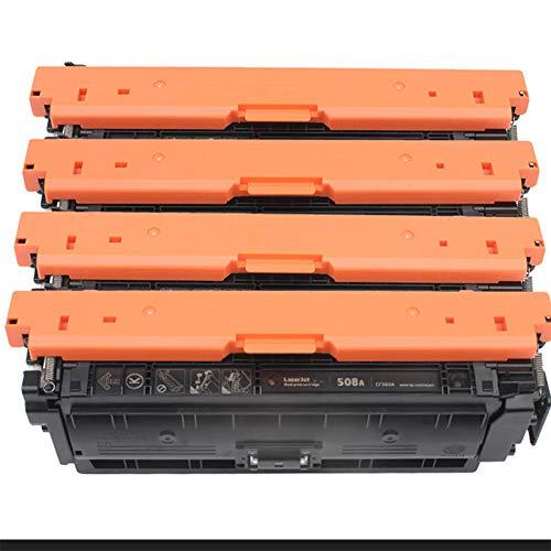 HGSA Modelo Compatible CF360A CF361A CF362A CF363A Cartuchos de tóner de Color, Uso FORHP M553N M553DN M553X M553DH M577F M577Z M577C M577Z M577C M577DN Impresora de Colo 4-Color-Set