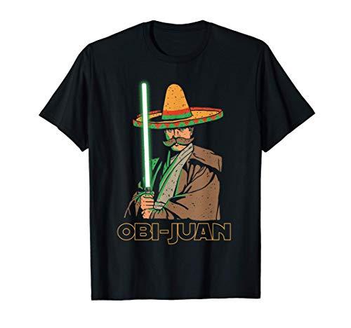 Obi Juan Funny Cinco De Mayo Mexican Movie Nerd Lover Shirt T-Shirt