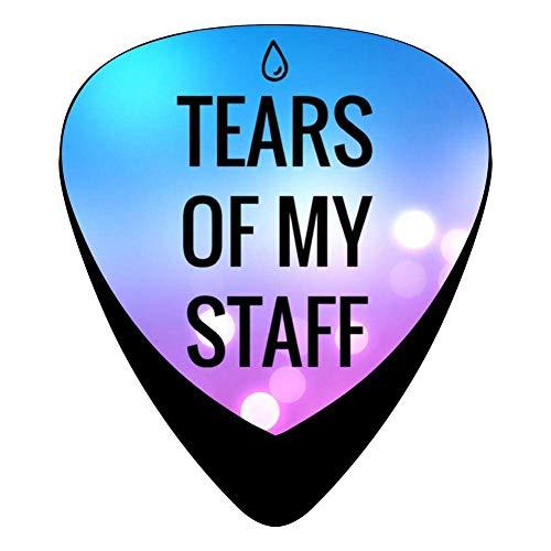 hangong Tears of My Staff - Púas para guitarra eléctrica...
