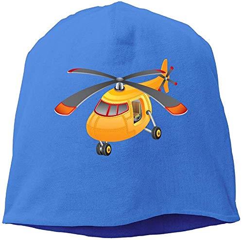RROOT Helikopter-Hut aus Wolle, Unisex, Königsblau
