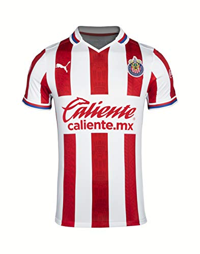 PUMA 2020-21 Chivas Home Jersey - Red-White L
