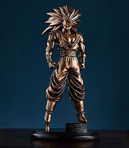 XIHAI Figura De Dragon Ball Super Grande Z Goku 31 Cm Material De Resina GK Super Saiyan...
