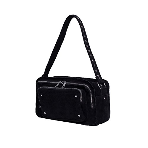 Noella Fashion Cristell Crossover Bag Black