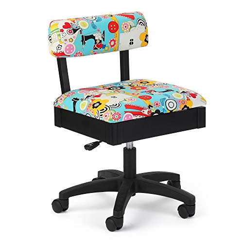 SEW Now SEW Wow Hydraulic Sewing Chair- Best sewing chair overall
