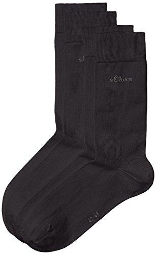 s.Oliver Unisex - Erwachsene Socke 2 er Pack, S20001, Gr. 39-42, Blau (04 navy)