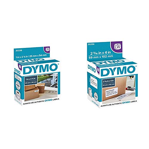 """DYMO Authentic LW Multi-Purpose Labels & Authentic LW Large Shipping Labels 