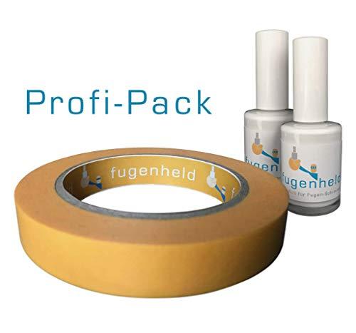 Anti-Schimmel Fugenfarbe/Fugenstift, extra gut abdeckende Farbe, schimmelresistent / 2x15ml (Weiß)...