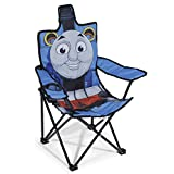 Idea Nuova Thomas & Friends Figural Camp Chair for Kids, Indoor/Outdoor Use, Ages 3+