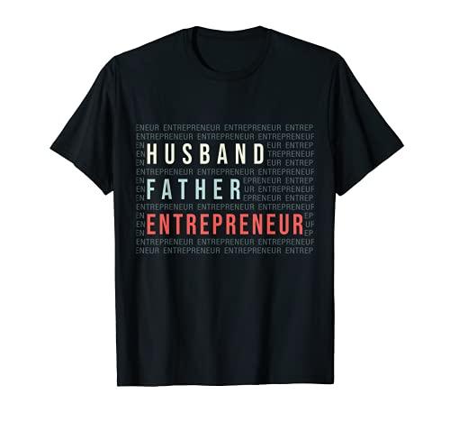 Marido Padre Emprendedor Dueño de Negocios Camiseta
