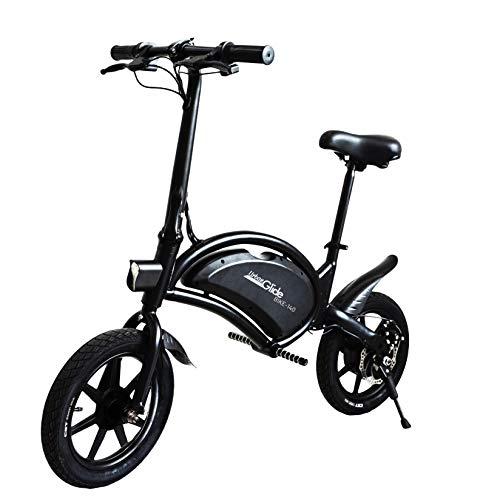 Urban Glide E-Bike 140 Negro Aluminio 35,6 cm (14') Litio 15 kg - Bicicletas eléctricas (Litio, 6 Ah, 18 km, 36 V, 5 h, 15 kg)