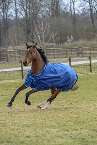 Bucas Smartex medium in blue, Weidedecke, Outdoordecke , Größe:125