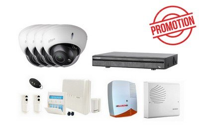 Risco–Kit Alarma–Kit HD-CVI Videosurveillance