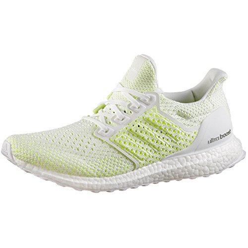 adidas Ultraboost Clima, Zapatillas de Running Hombre, Blanco (FTWR White/FTWR White/Solar Red), 38 2/3 EU