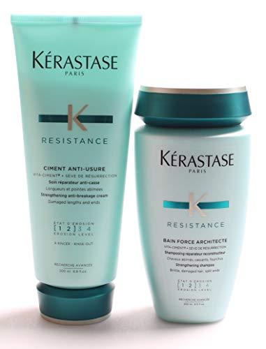 "Kerastase ""Bain Force Architect"" und ""Ciment Anti-Usure"", Haarpflege-Duo"