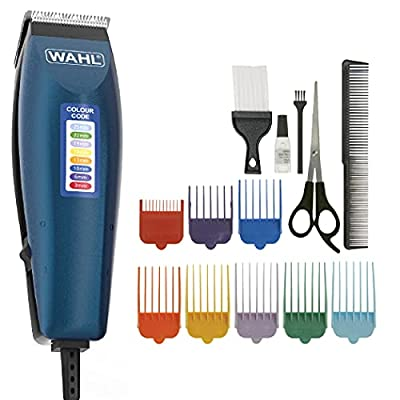 WAHL Hair Clippers for Men, Colour Pro Corded Clipper, Head Shaver, Men's Hair Clippers, Colour Coded Clipper Guides, Corded, Family at Home Haircutting