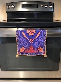 Tassels Placemat Magic Carpet Dish Towel Hand Towel Face Towel Tea Towel Inspired by Aladdin Magic Princess Whitney