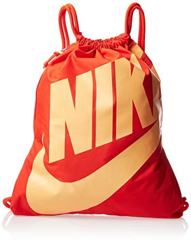 Nike Trainingsbeutel Heritage Gym Sack, team orange/team orange/fuel orange, MISC, BA5351-892