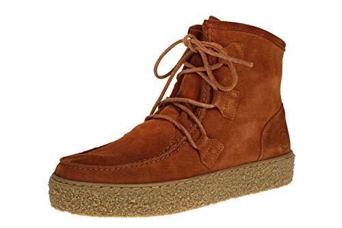 Ca Shott P18110 - Damen Schuhe Stiefel - 55-Cognac-Suede, Größe:38 EU