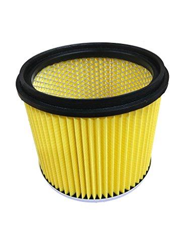 Filter - Lamellenfilter - Luftfilter - Patronenfilter - Kartuschenfilter - Filterpatrone für Nass - Trockensauger, waschbar