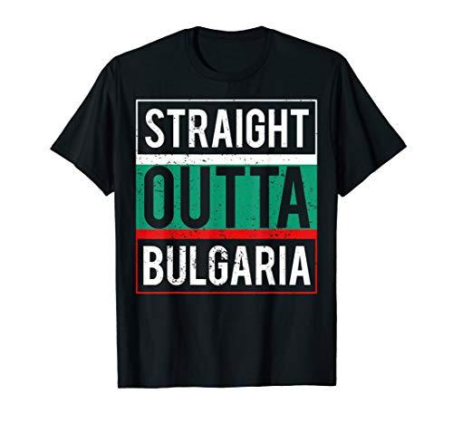 Retro Bulgarien Bulgaria Flagge T-Shirt